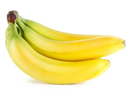 photo of a bunch of ripe bananas
