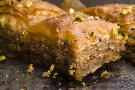 Baklava - traditional Middle Eastern sweet desert