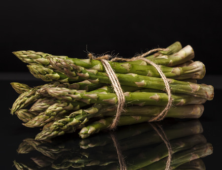 photo of a bunch of asparagus spears