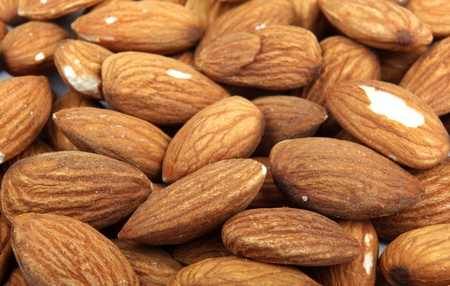 photo of shelled almonds