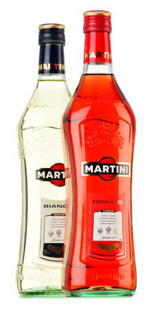 Photo of Italian red and white vermouth