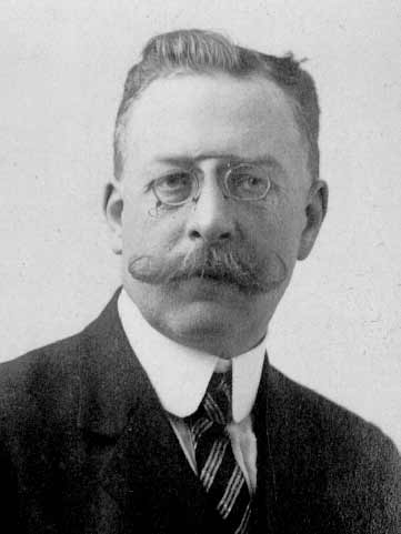 Photo of the French scientist Louis Camille Maillard