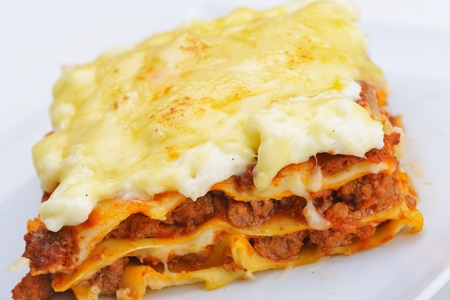 photo of traditional lasagne